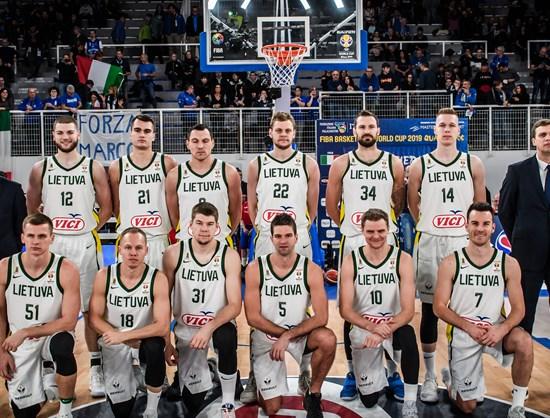 Selección lituana de Baloncesto